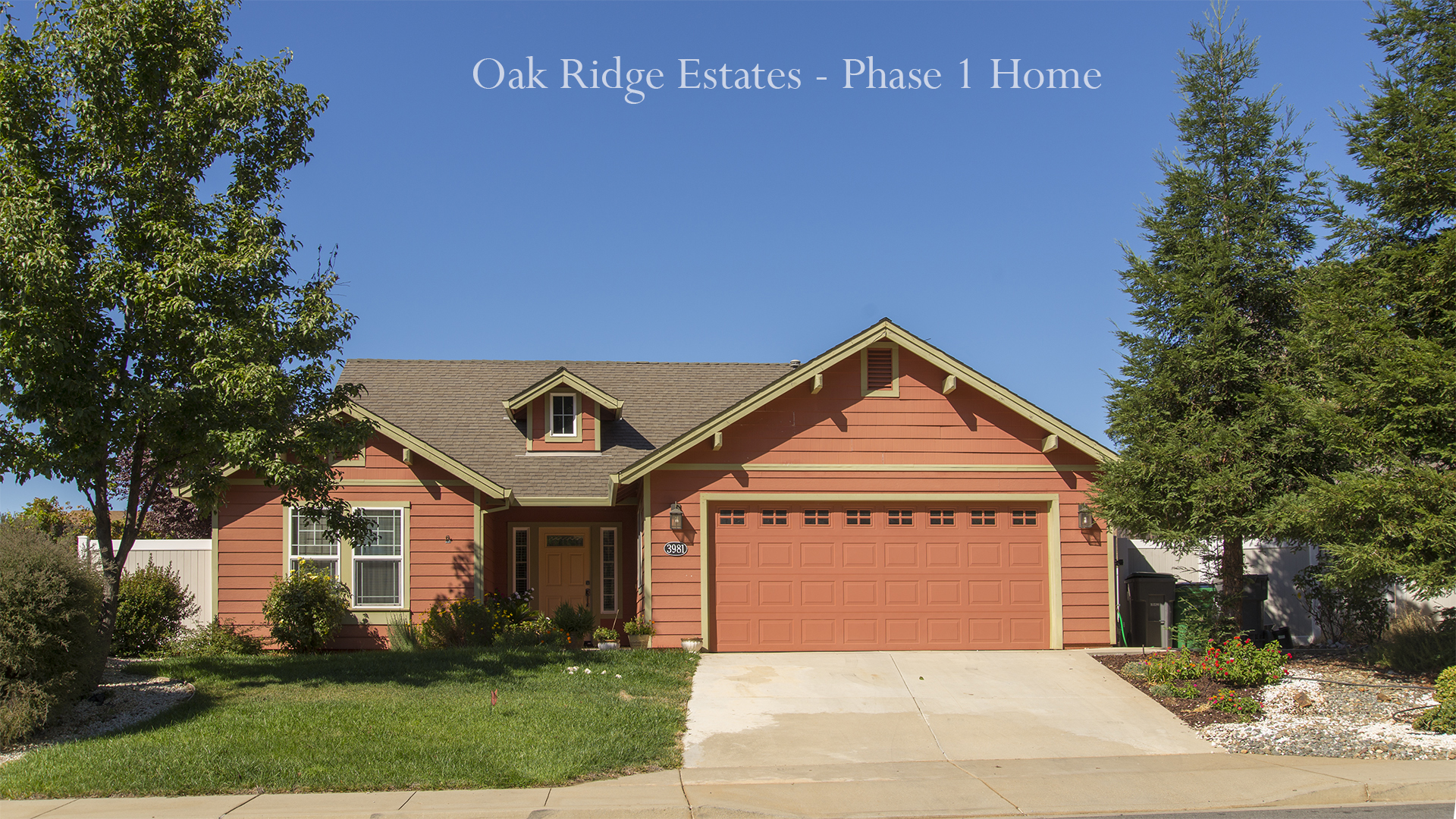 Oakridge Phase I Home 1