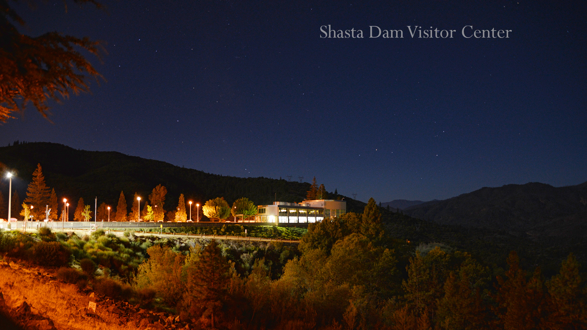 Shasta Dam Visitor Center